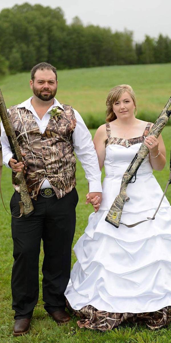 camo wedding dresses jacket sleveless ideas for groom julia photography