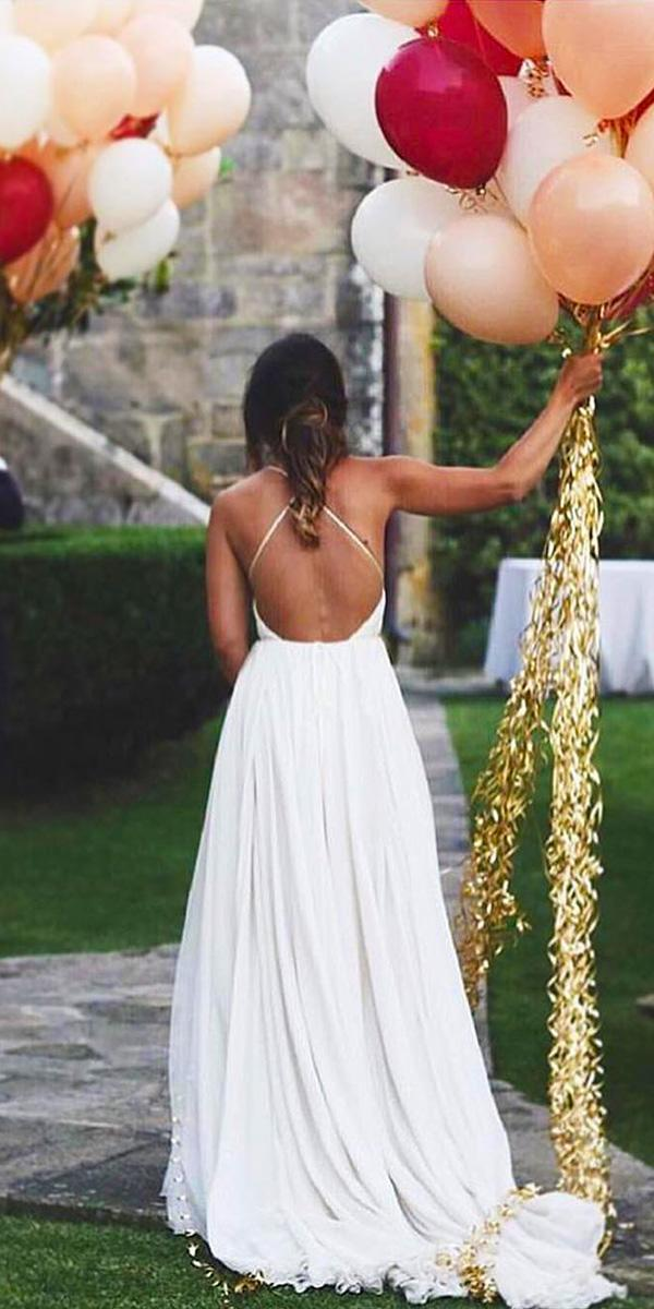 open back wedding dresses x cross a line simple for beach calistaone