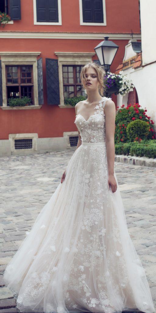 riki dalal wedding dresses a line one shoulder sweetheart neckline style olivia
