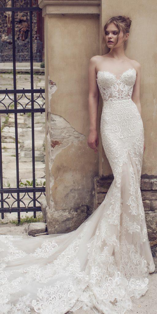 riki dalal wedding dresses mermaid strapless sweetheart lace style ariel