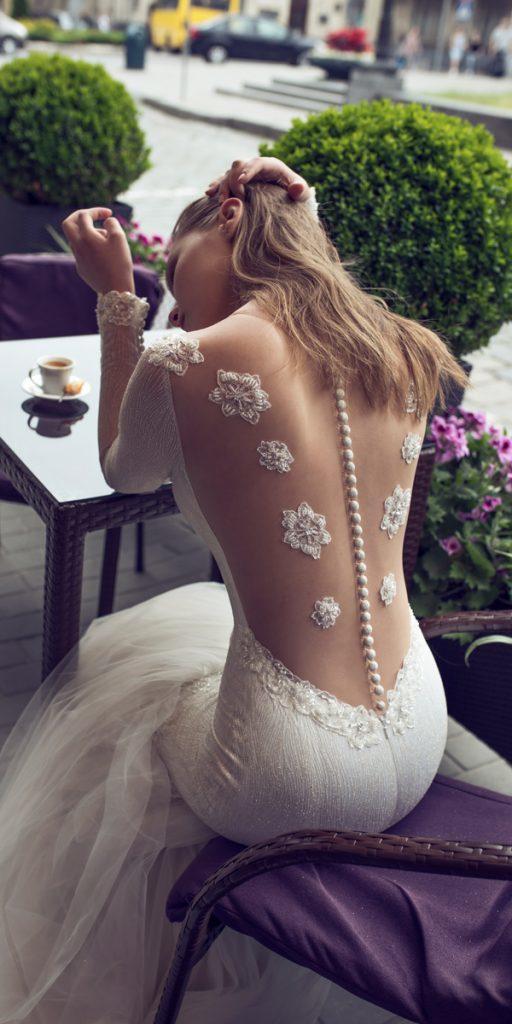 riki dalal wedding dresses mermaid with long sleeves interesting backless style bianca