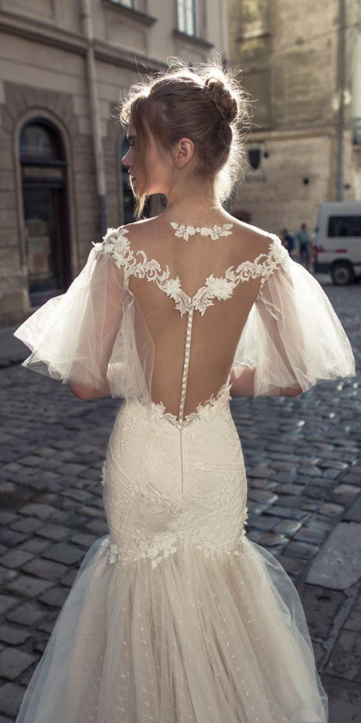 riki dalal wedding dresses mermaid with sleeves illusion backless style miranda