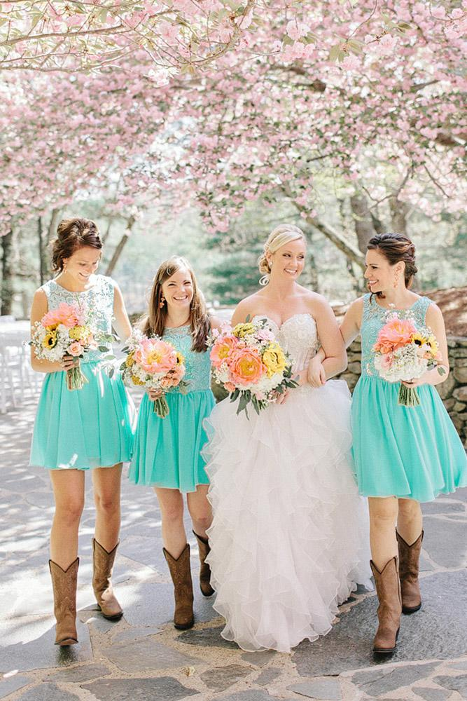 rustic bridesmaid dresses amy arrington photography