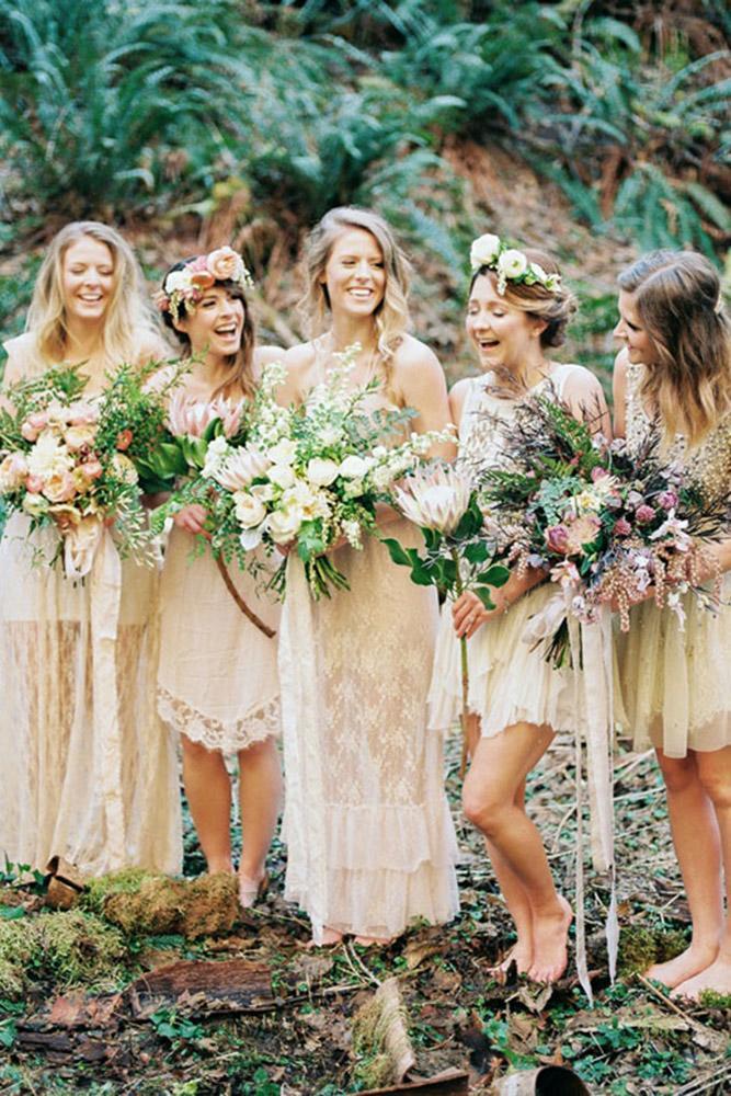 rustic bridesmaid dresses long short lace embellishment alexandra grace