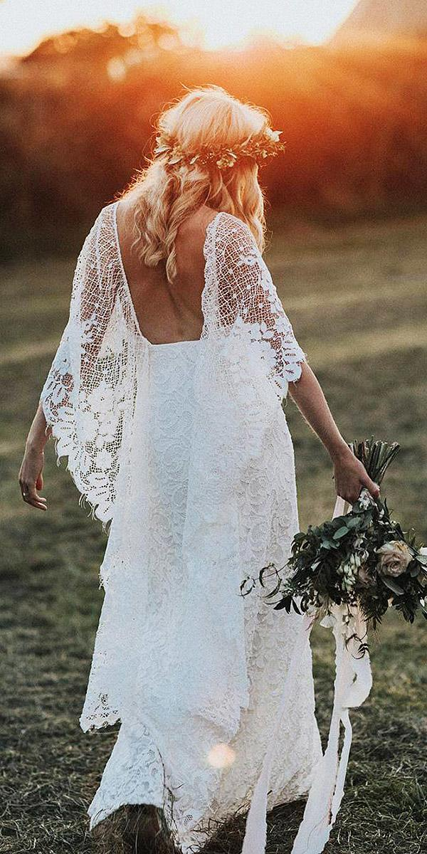 18 Rustic Lace Wedding Dresses For Different Tastes Of Brides ...