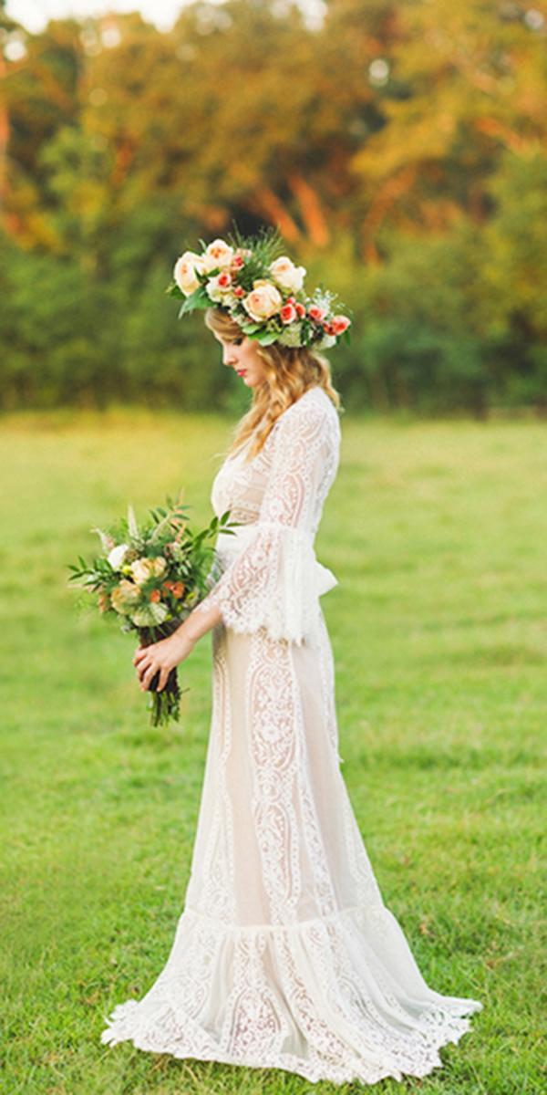 rustic lace wedding dresses sheath with sleeves vintage lace ashleigh jayne Photography,