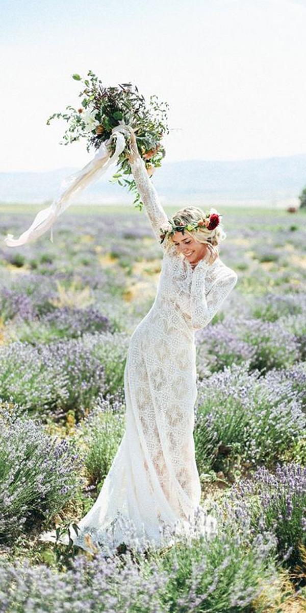 vintage wedding dresses sheath with long sleeves boho india ear photography