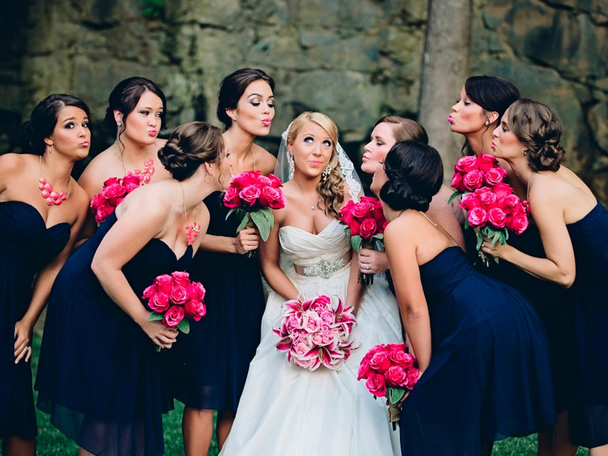 blue bridesmaid dresses crystal stokes photography featured