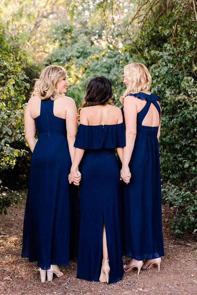 18 Blue Bridesmaid Dresses For Great Wedding Wedding