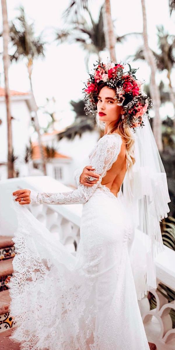 boho wedding dresses with sleeves sheath low back long sleeves lover sx society