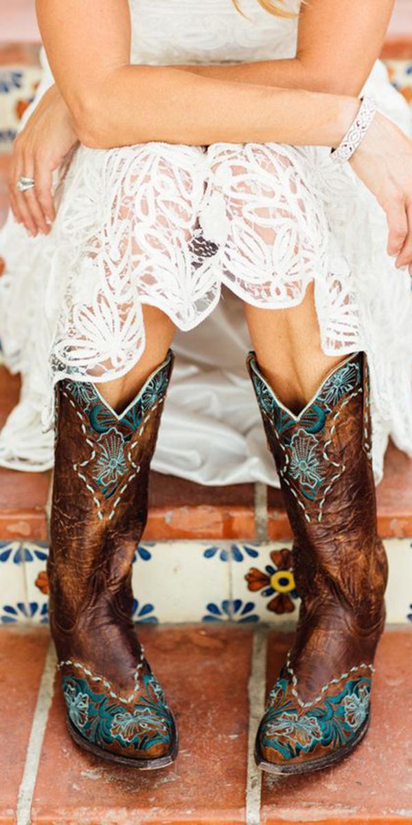 cheap camo wedding dresses boots brown brittrene photo