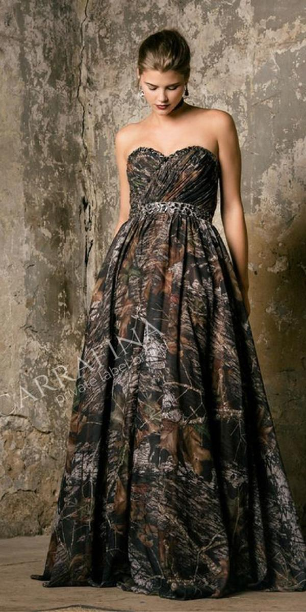 camo wedding dresses for cheap cheap camo wedding dresses for every budget wedding 2401