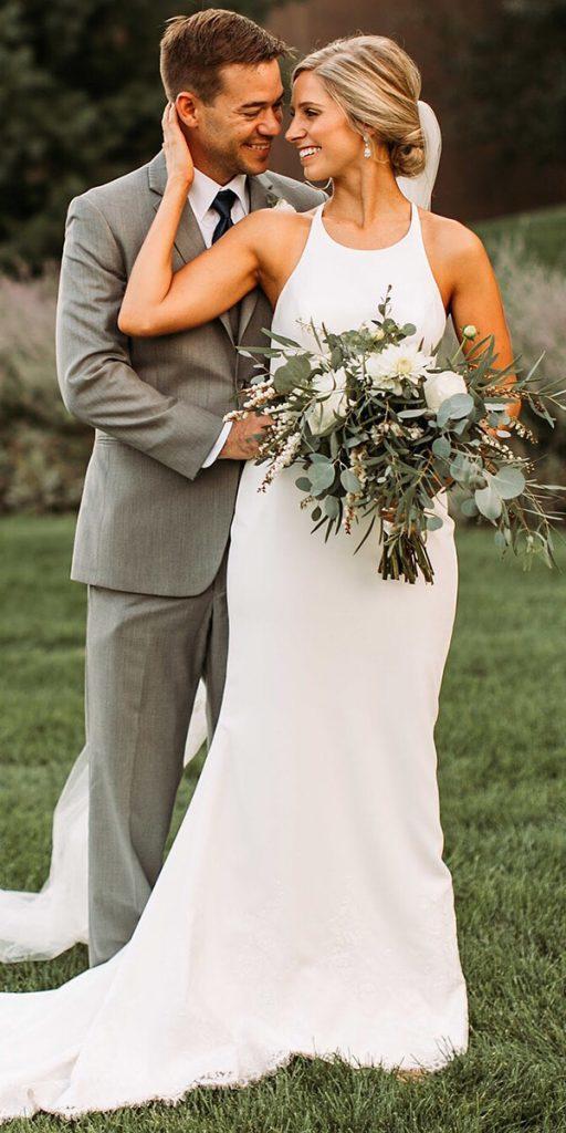country wedding dresses simple sheath sleeveless kelly faetanini