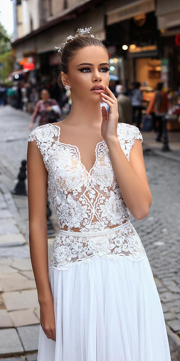 liretta wedding dresses full lace sleeveless 2018