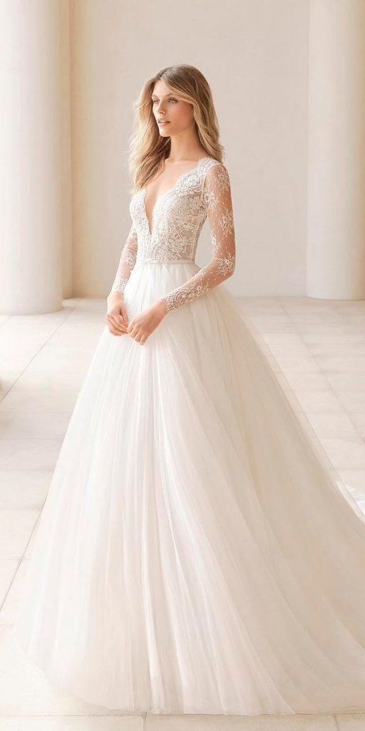 30 Stunning Long Sleeve Wedding Dresses For Brides Wedding Dresses Guide