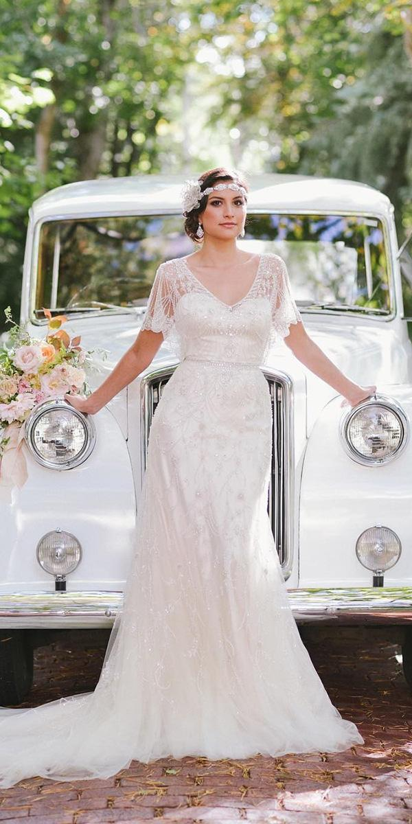 18 Rustic Lace Wedding Dresses For Different Tastes Of
