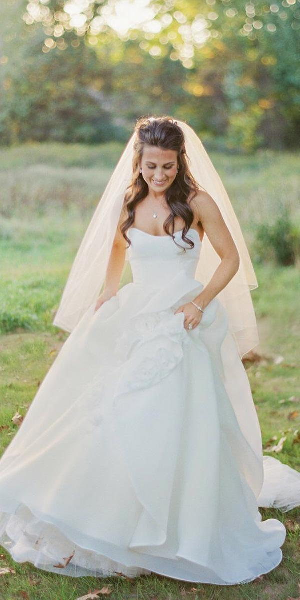 strapless wedding dresses a line sweetheart simple maggie sottero