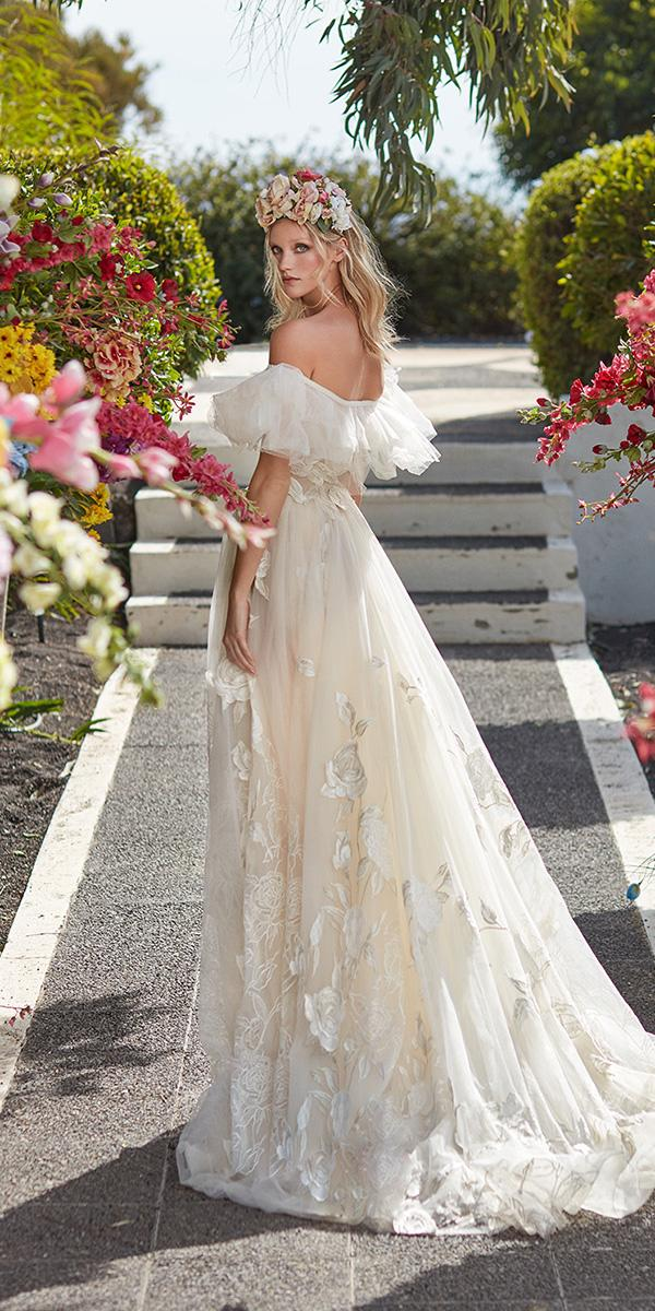 galia lahav wedding dresses ball gown 3d floral embroidered