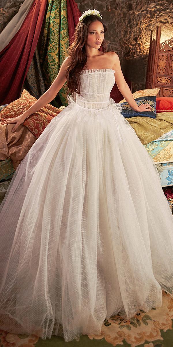 galia lahav wedding dresses ball gown straight across tulle simple
