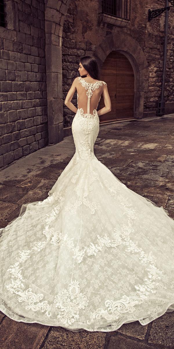 julia kontogruni wedding dresses mermaid tattoo effect back full lace 2018
