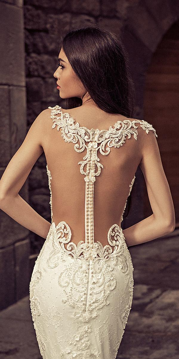 julia kontogruni wedding dresses tattoo effect back with buttons sexy details