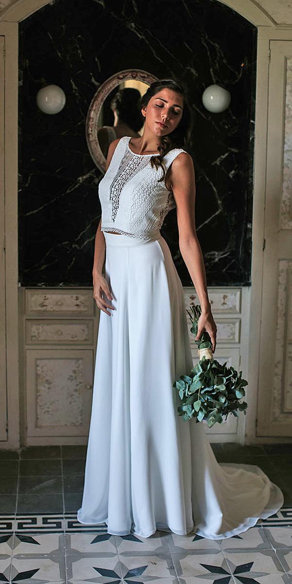 lavetis wedding dresses sheath lace top vintage casual 2018