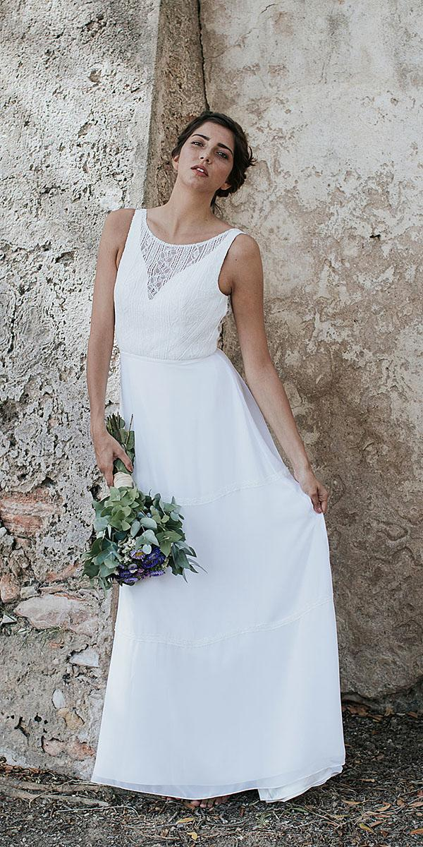 lavetis wedding dresses sheath sleveless simple 2018