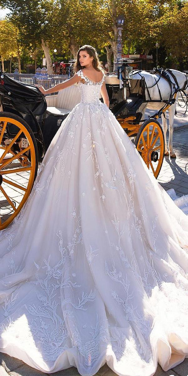top wedding dresses ball gown luxury floral giovanna alessandro