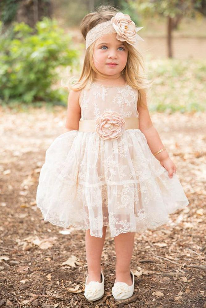 tutu flower girl dresses lace rustic love baby jcouture