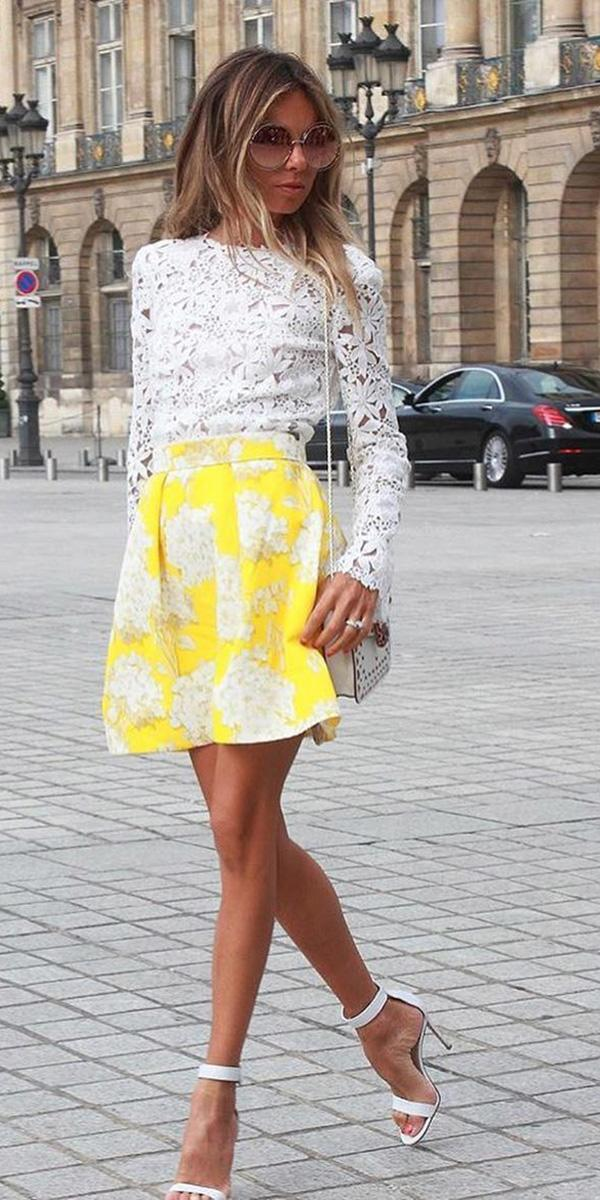 wedding guest designer dresses short with long sleeves colored skirt monique lhuillier