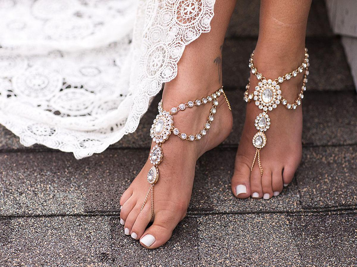 beach wedding shoes featured melissa schollaert photography