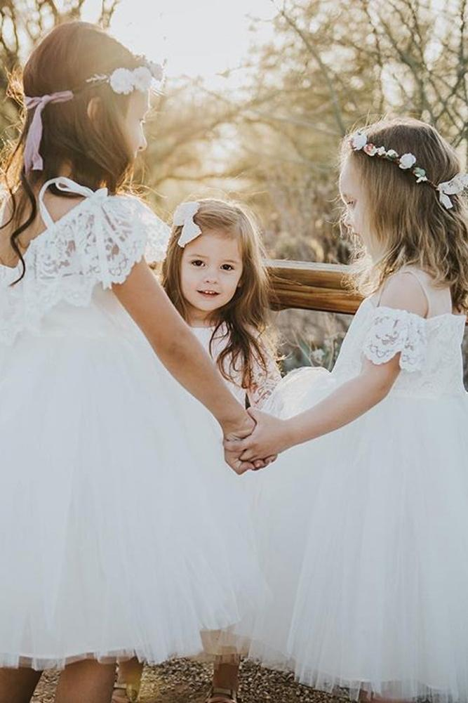 ball gown tulle off the shoulder rustic lace flower girl dresses jaxavery beyondthestudio