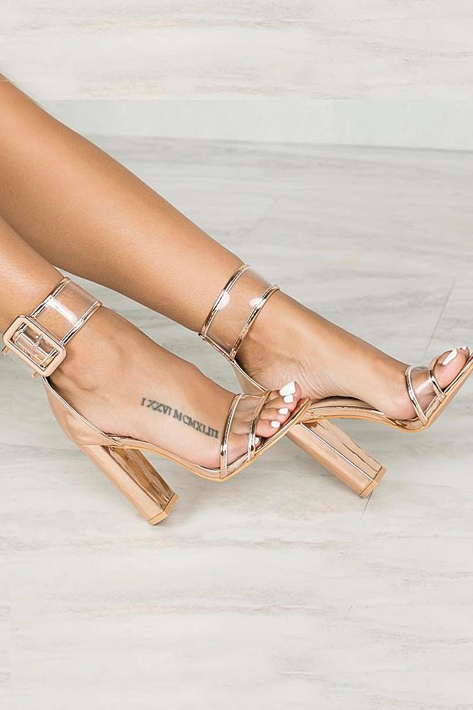beach wedding shoes sandals gold sparkle lillyskloset