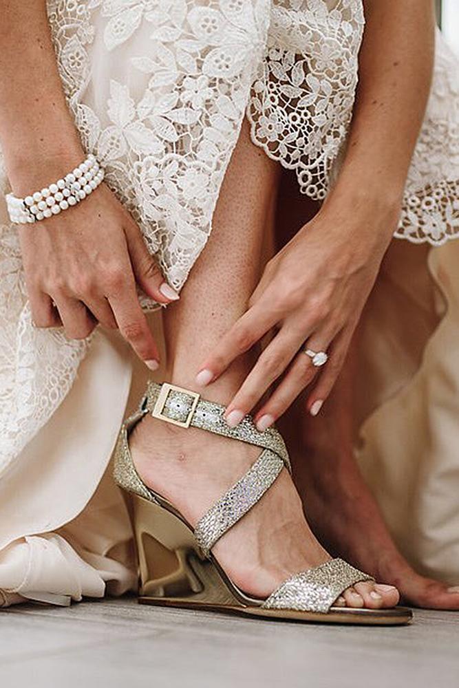 beach wedding shoes wedge for bride casablanca bridal