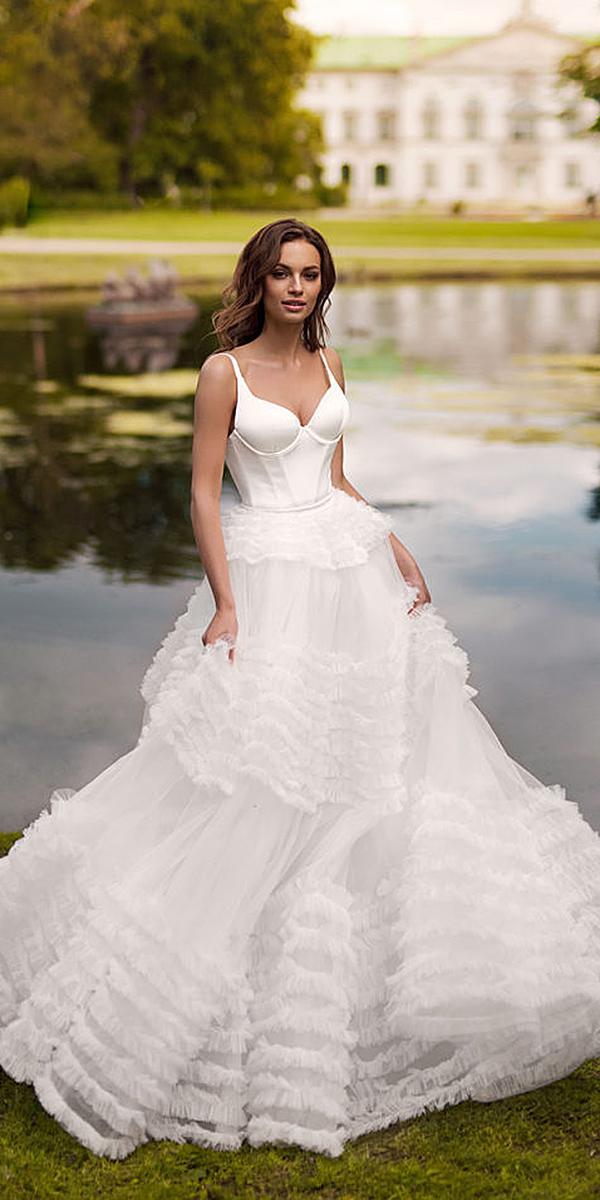 blammo biamo wedding dresses with straps simple unique 2018