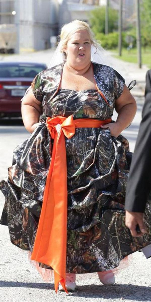 cheap camo wedding dresses ball gown for plus size camo formal