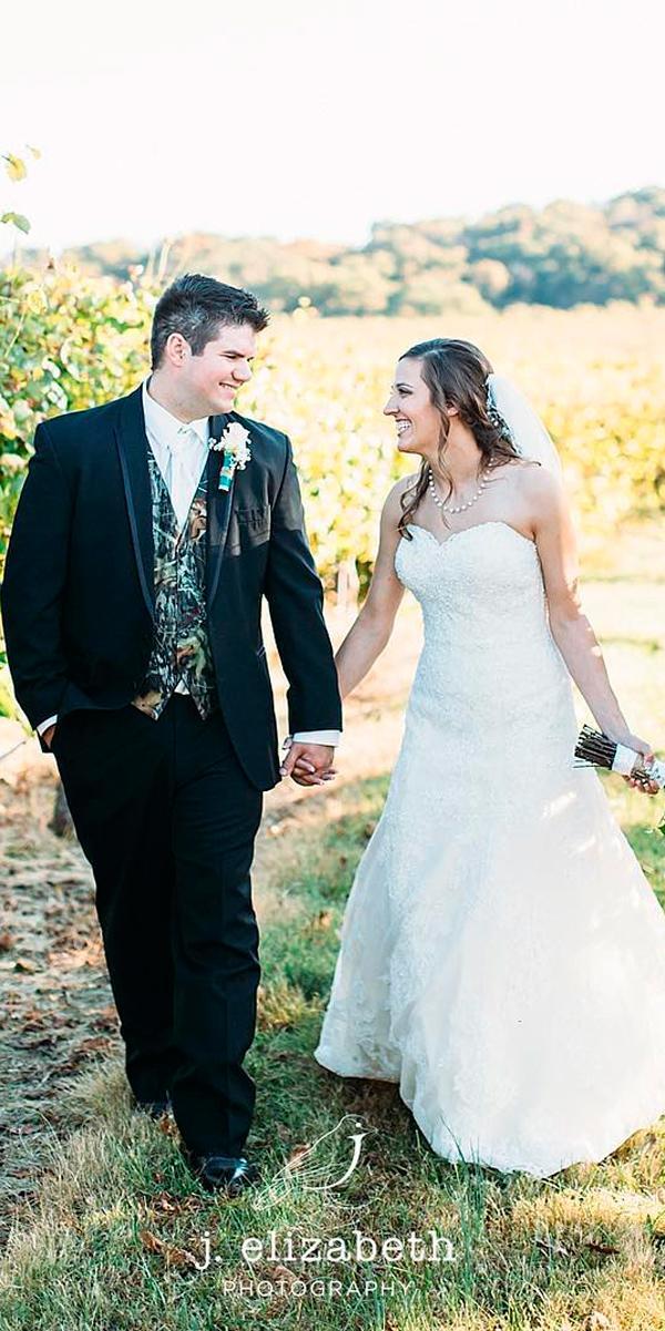 country camo wedding dresses a line lace strapless sweetheart neckline j elizabeth