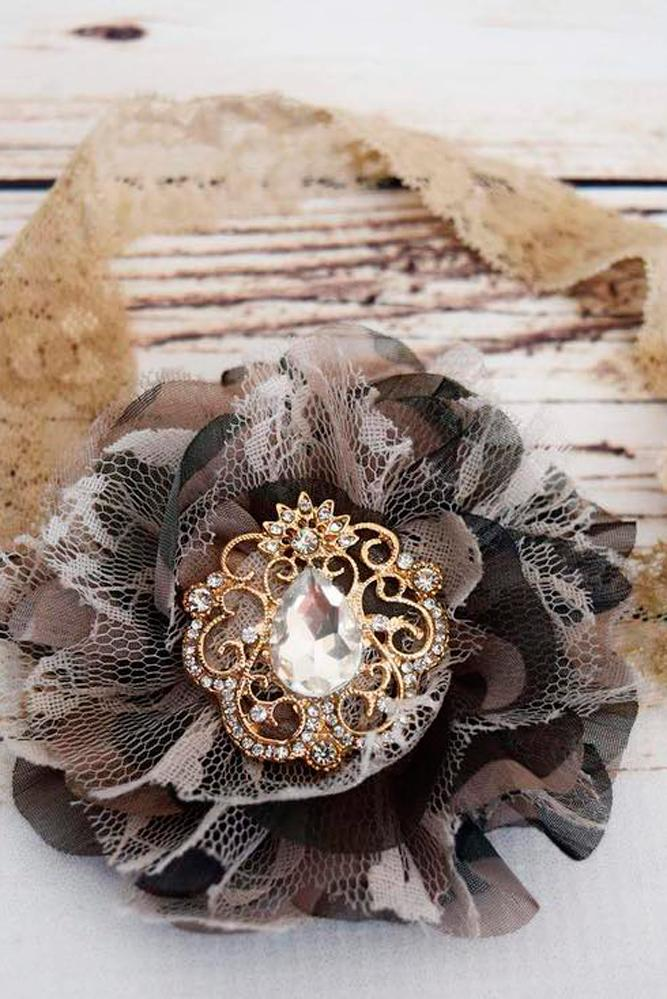 country camo wedding treasures bridal garter with rhinestones lace thepearledrose