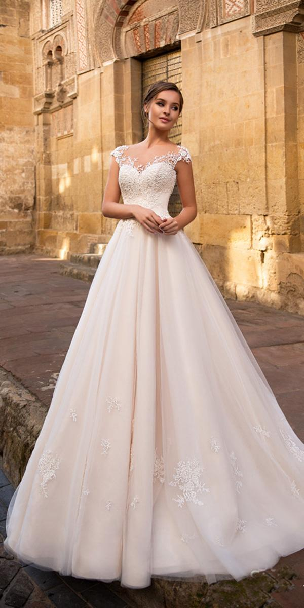 giovanna alessandro wedding dresses a line with cap sleeves ivory