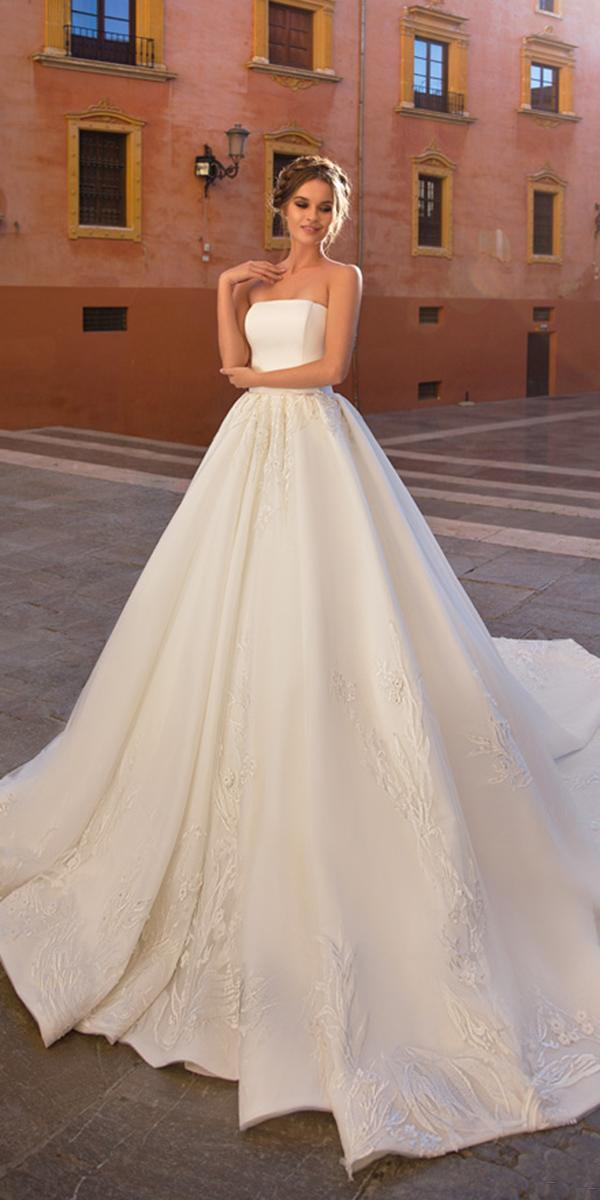 giovanna alessandro wedding dresses ball gown straight accross simple 2018