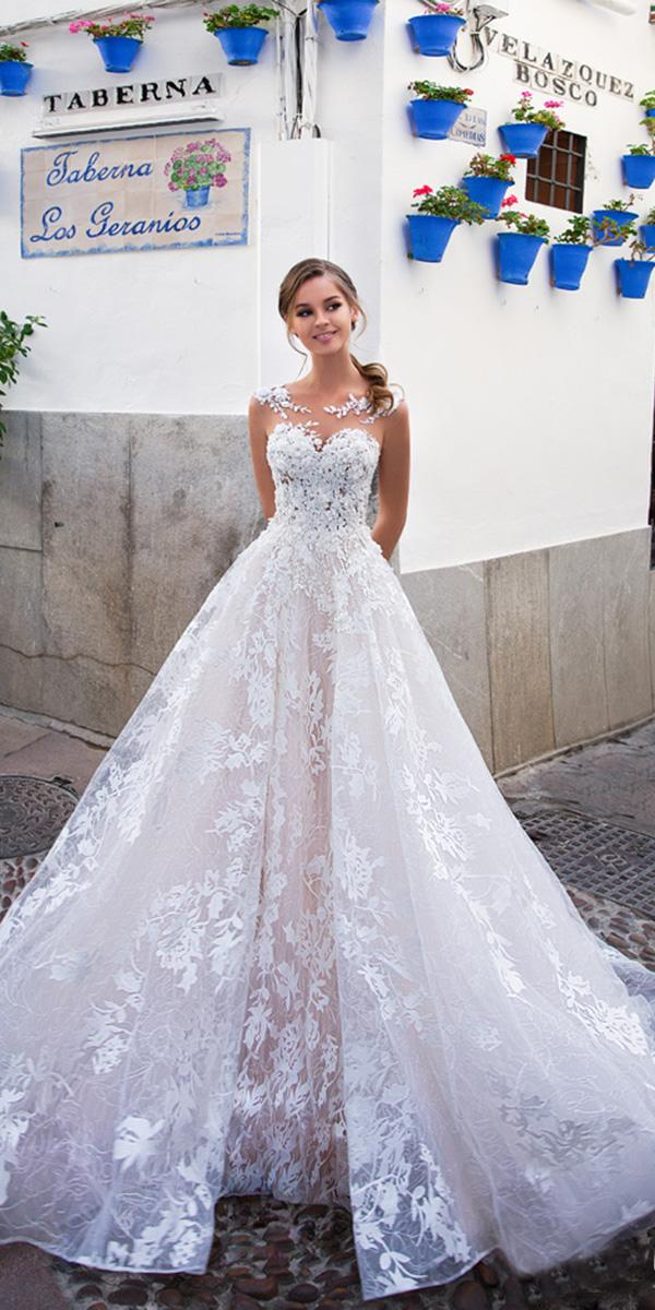 giovanna alessandro wedding dresses princess sweetheart lace popular 2018