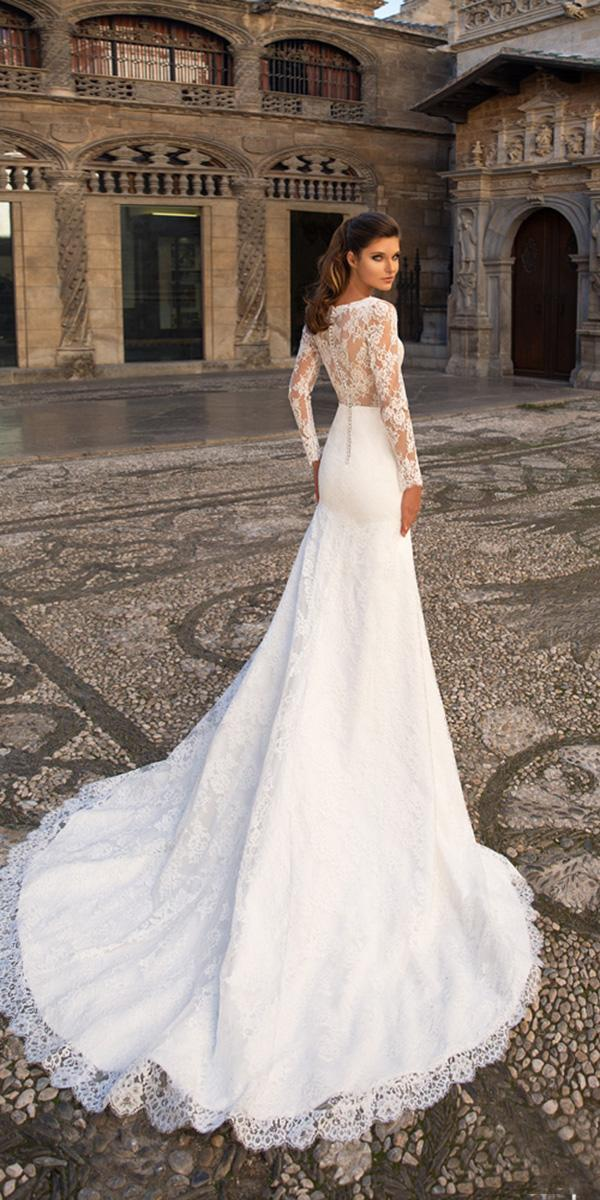 giovanna alessandro wedding dresses sheath with long sleeves full lace 2018