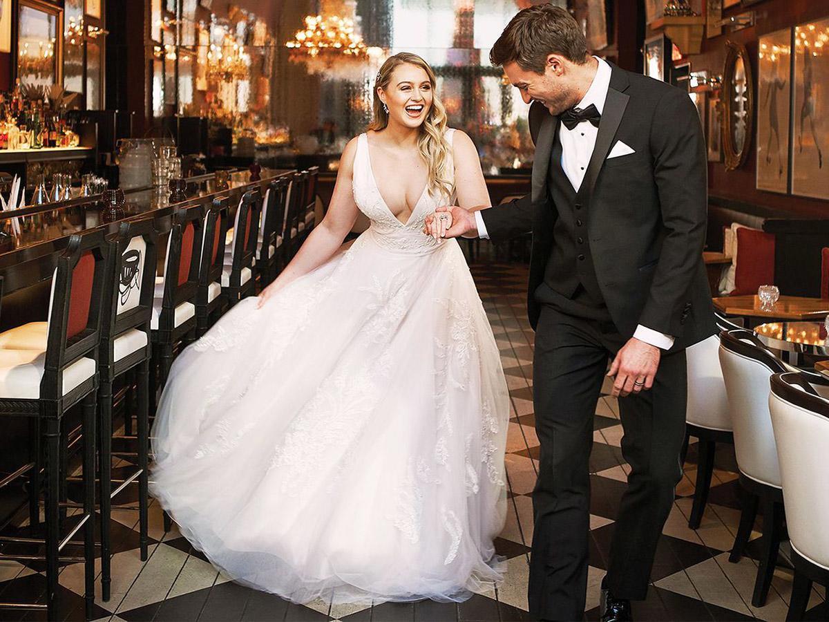 Justin Alexander Wedding Dresses 2018 Iskra For Plus Size