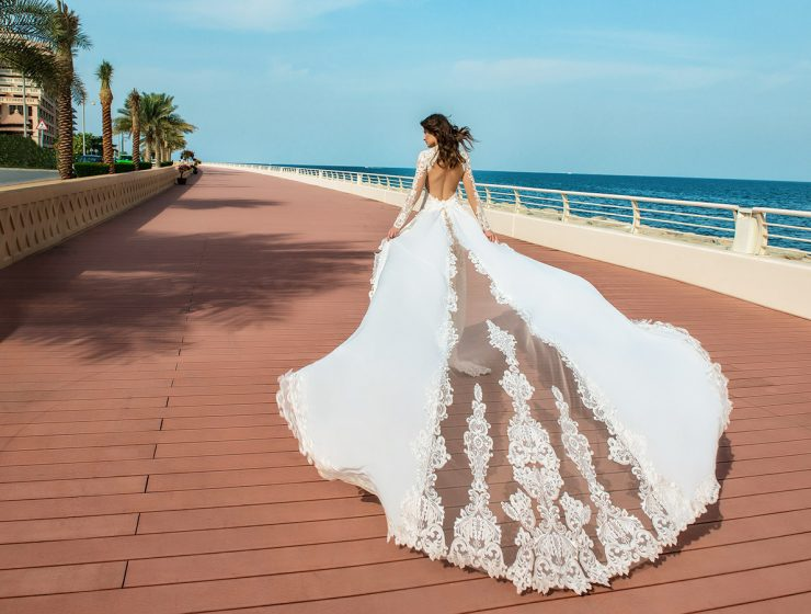 lace bridal gowns featured
