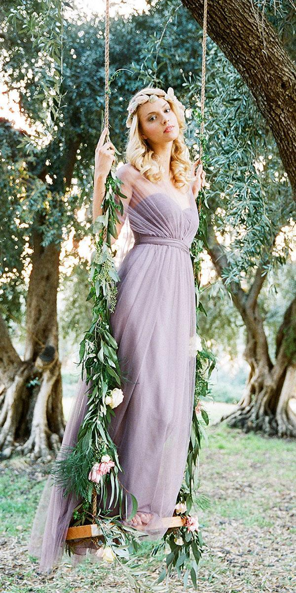 lavender bridesmaid dresses sweetheart with cape dark long jenny yoo