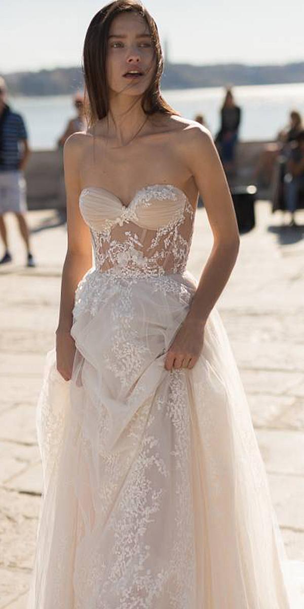 liz martinez wedding dresses strapless lace beach 2018 for destination