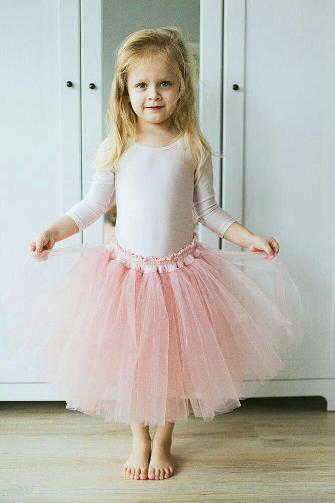 tutu flower girl dresses diy tulle pink skirt katrina voronkova