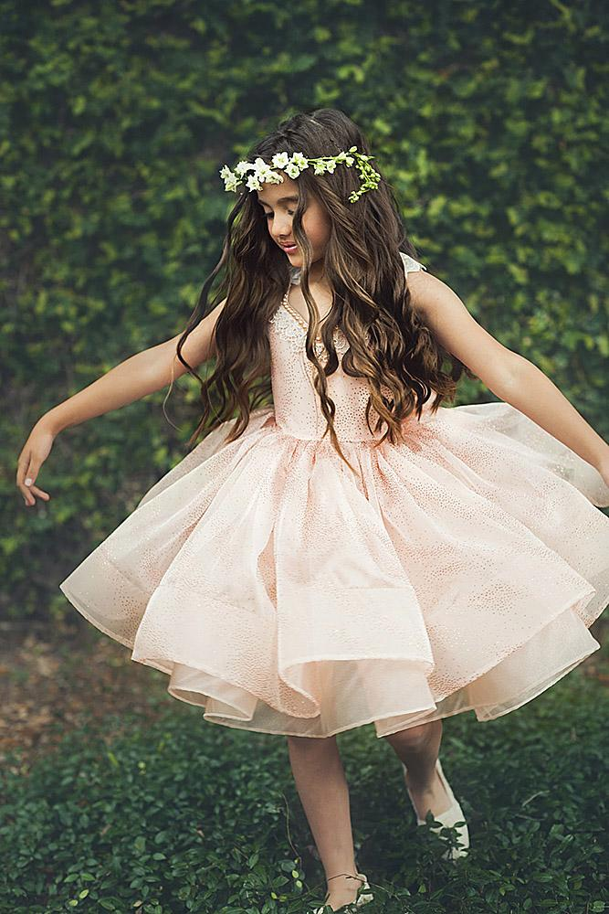 tutu flower girl dresses ivory sleveless country
