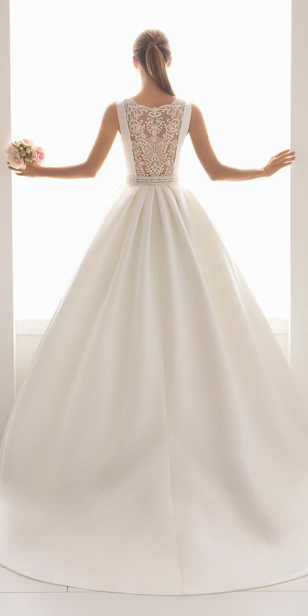 aire barcelona wedding dresses illusion lace back 2018