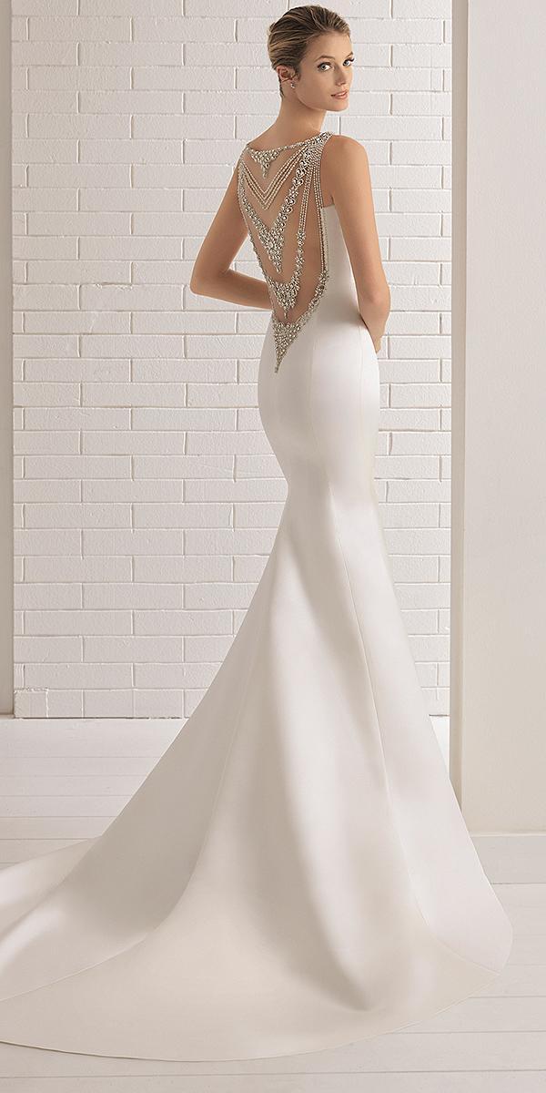 aire barcelona wedding dresses mermaid beaded back 2018